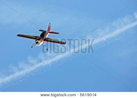 Model aircraft / aeroplane/ plane flying