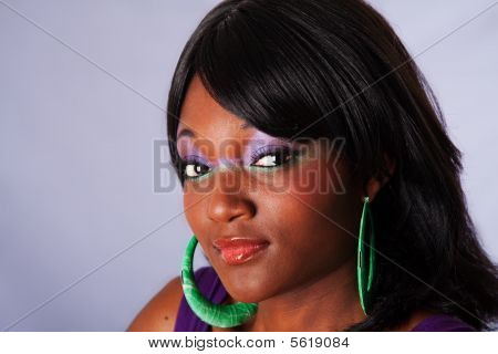 Beautiful Face Of African Woman