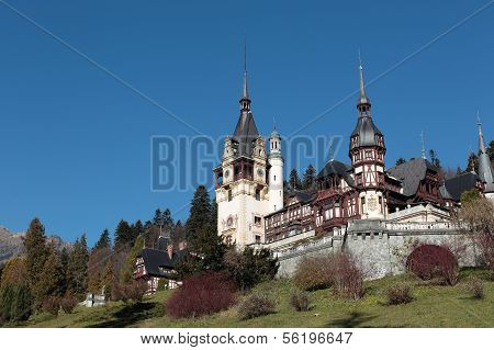 Peles Castle,Sinaia city,Romania