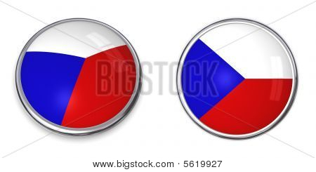 Banner Button Czech
