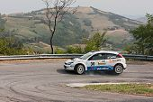 Rally Car Ford Focus Wrc