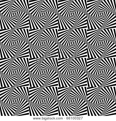 Optical Illusion,  Seamless Pattern Eps 10