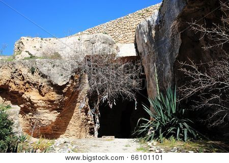 Christian Catacombs, Paphos, Cyprus