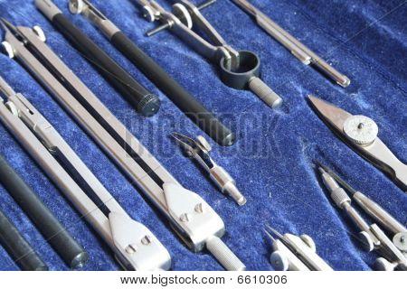 Set Of Drawing Tools