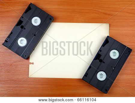 Video Tapes On The Board