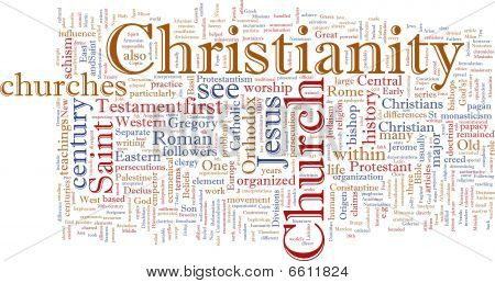 Christian Word Cloud