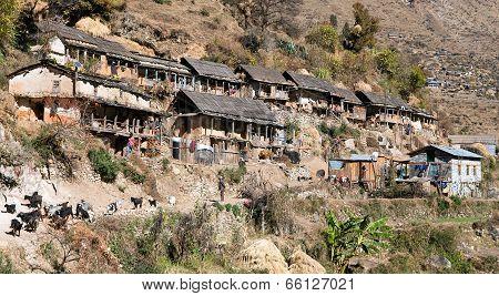 Srikot Village - Village In Western Nepal