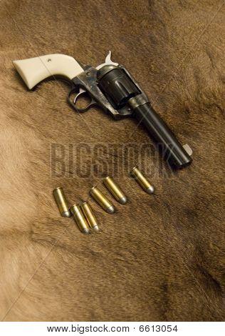 Old Western Revolver