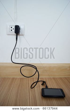 Mobile Phone And Charger