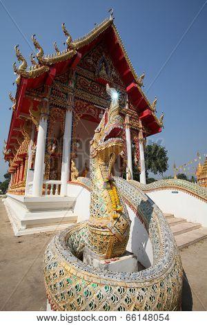 Phaya Naga of Wat Bang Krai