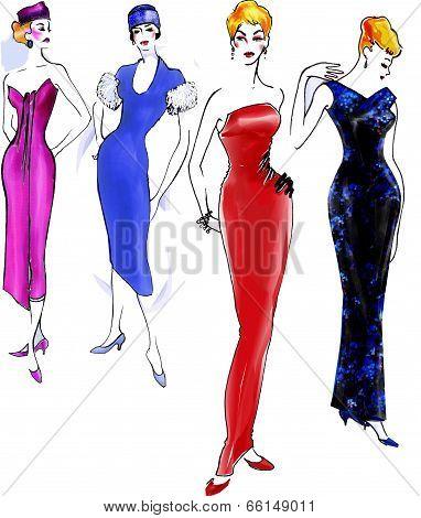 Fashion History: 1950 Model