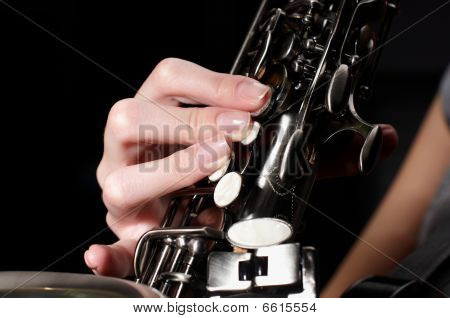 Buttons Of Saxophone