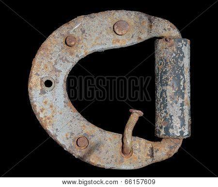 Old Door-hinge