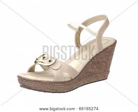 high heel women shoe