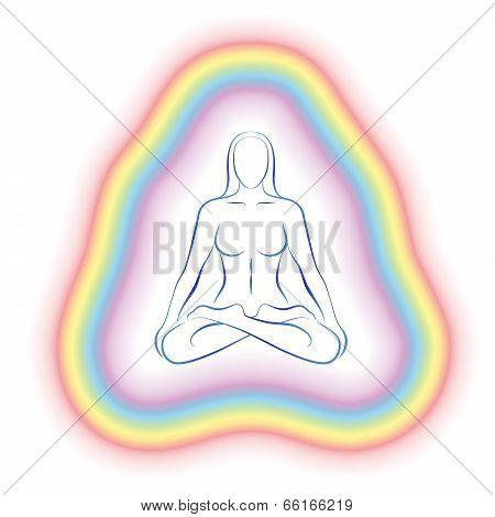 Aura Meditation Subtle Body Woman