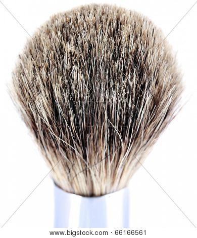 Shaving brush isolated on white