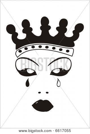Rainha chora