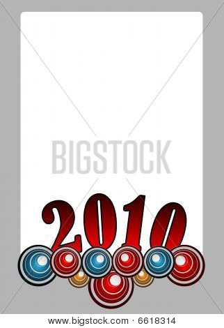 2010 New Year Template
