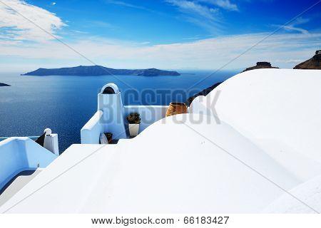 The House On Santorini Island, Greece