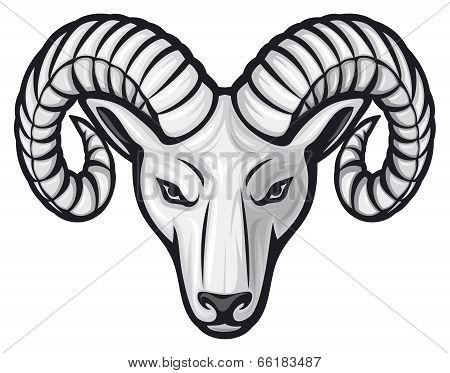 head of the ram - ram head