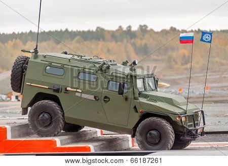 VPK-233114 Tigr-M armored vehicle (Russia)