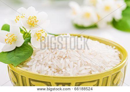 Bowl With Rice Jasmine