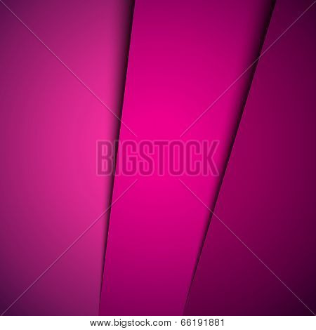 Simple pink abstract background
