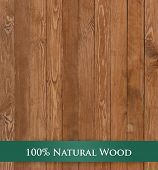 stock photo of joinery  - Architectural background texture of a panel of natural unpainted pine board cladding with knots and wood grain in a parallel pattern conceptual of woodwork - JPG