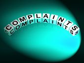 picture of moaning  - Complaints Letters Meaning Dissatisfied Angry And Criticism - JPG