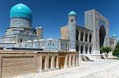 stock photo of samarqand  - View of Tilla - JPG