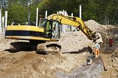 stock photo of jcb  - bulldozer - JPG