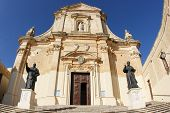 picture of gozo  - medieval Cathedral of the Assumption - JPG