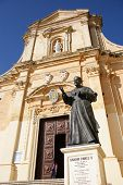 image of gozo  - medieval Cathedral of the Assumption - JPG