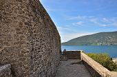 stock photo of kan  - Old fortness Kanli Kula in Herzeg Novi Old Town - JPG