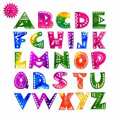 pic of hand alphabet  - Cute hand - JPG