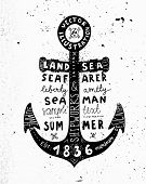 pic of navy anchor  - Black Anchor - JPG