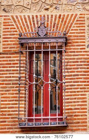 Window Casa De Cisneros Plaza De La Villa Madrid Spain