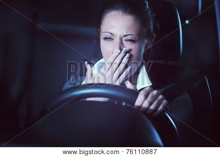Distracted Driving At Night