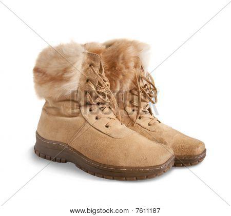 Shammy Fur Womanish Boots