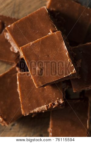 Homemade Dark Chocolate Fudge