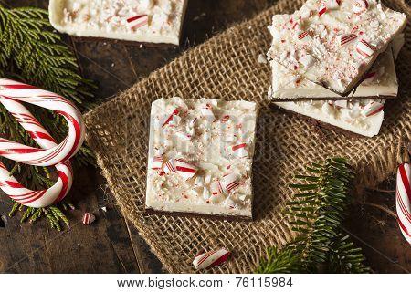 Homemade Holiday Peppermint Bark