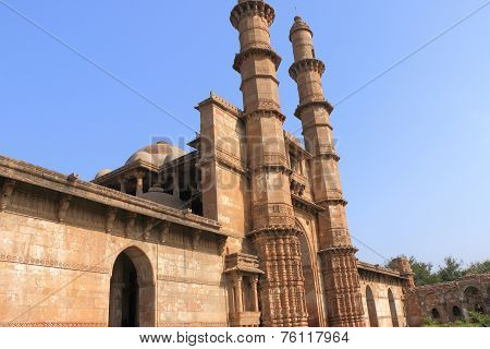 champaner world heritage site Pavagadh india