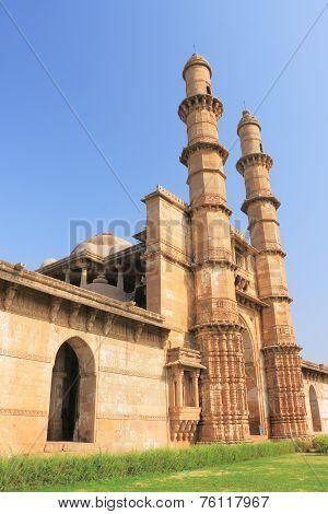 champaner world heritage site Pavagadh india