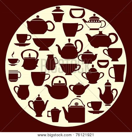Coffee And Tea - Illustration