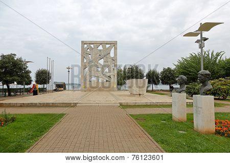 Wwii Monument Rovinj