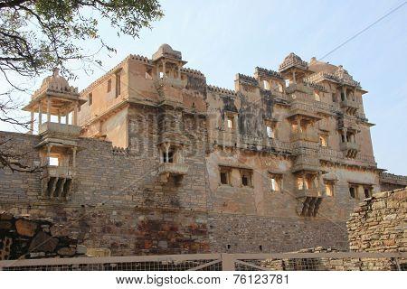 Frontage Of Rana Kumbh Palace