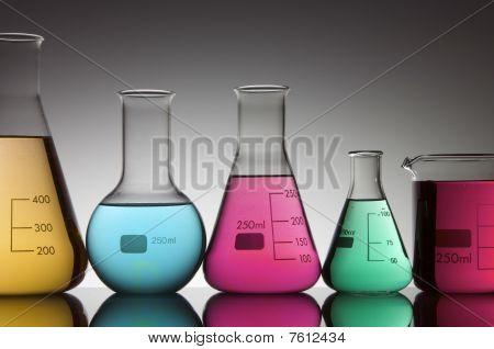 Five Flasks