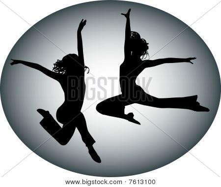 Adolescentes de salto