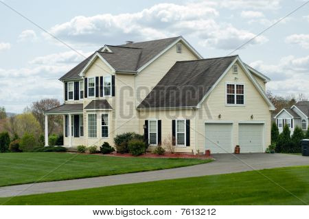 Modern Colonial House