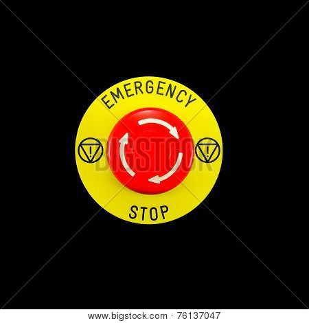 Red Emergency Button Switch
